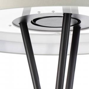 OZONOS Ozonos Hailey stojaca LED lampa krémová s AC-1