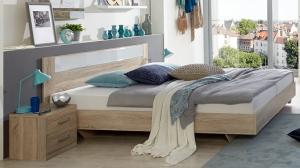 PALOMA 142 S07 manželská posteľ 160x200 cm a 2 nočné stolíky