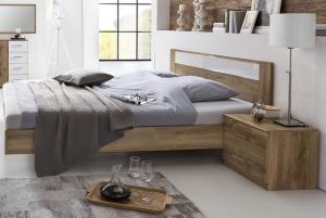 PALOMA 142 S08 manželská posteľ 160x200 cm a 2 nočné stolíky