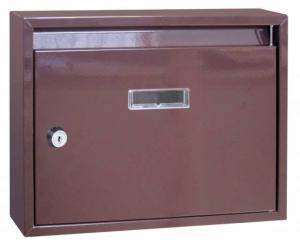 Paneláková poštová schránka hnedá SKVELER