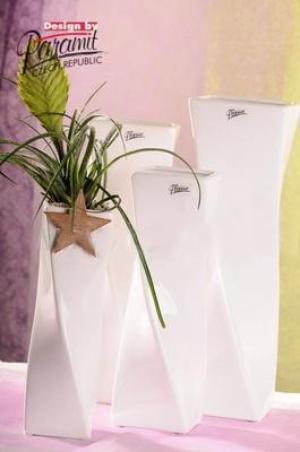 Paramit 11031-24 Váza Xenie biela 24cm