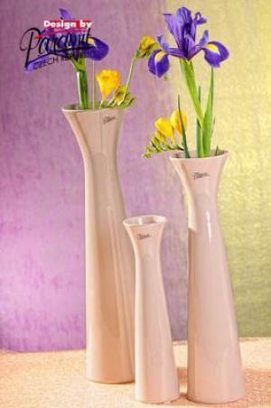 Paramit 11070-34C Váza SISI béžová 34cm
