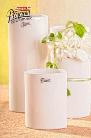 Paramit 11083-12W Váza Dita biela 12cm