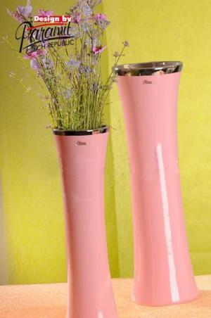 Paramit 12097-40P Váza MATO 40cm ružová