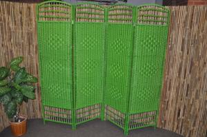 paraván prepletaný - zelený