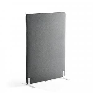 Paraván Zip Rivet, 1000x1400 mm, antracit, čierny zips