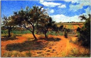 Paul Gauguin Obraz - Apple-Trees in Blossom zs17048