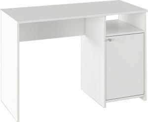 PC stôl, biela, DEDE