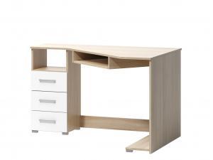 PC stolík Tatris 17 (dub sonoma + biela)