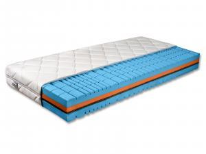 Penový matrac - Benab - Delta Flex - 200x180 cm (T4/T5). Priedušný, anatomický, obojstranný matrac z vysoko pružnej HR studenej peny, s prírodnou kokosovou doskou, pre najnáročnejších. Vyrobený na Slovensku.