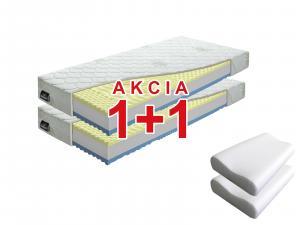 Penový matrac Benab Visco Plus 200x90 cm (T3/T4) *AKCIA 1+1 + dva vankúše zadarmo