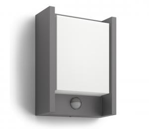 Philips 16461/93/16 - LED vonkajšie svietidlo s čidlom MYGARDEN ARBOUR 1xLED/6W