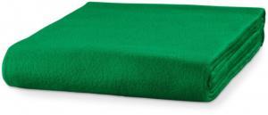 Piccolio Trávová zelená fleecová deka, 120x150cm