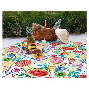 Pikniková deka Madre Selva Fruits, 140×170 cm