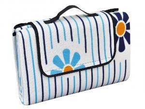 Pikniková deka vzor kvety