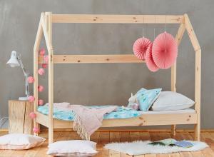 Pinio Detská posteľ domček - 160 x 70 cm Zásuvka: Áno