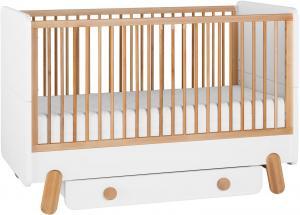 Pinio Detská postieľka / posteľ IGA - 140 x 70 cm Zásuvka: Áno