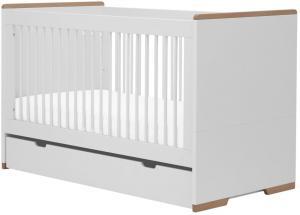 Pinio Detská postieľka / posteľ Snap - 140 x 70 cm (2 farby) Farba: Biela, Zásuvka: Áno