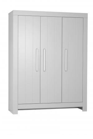 Pinio Skriňa Calmo - 3 dverová (2 farby) Farba: Sivá