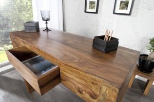 Písací stôl Makassar Sheesham 40 x 100 cm »