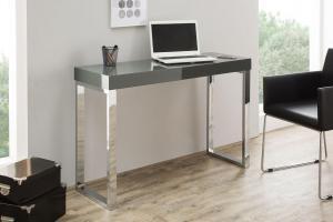 Písací stôl Office / tmavo sivý