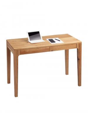 Písací stôl so zásuvkami Theodor, 110 cm, divoký dub