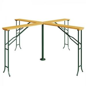 Pivárenský stôl pre 4 osoby, vysoký