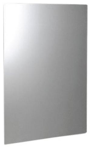 Plain 1501-25 zrkadlo 50x70 cm, zaoblené rohy, bez uchytenia
