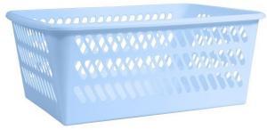 PLAST TEAM - Košík modrý umelá hmota 368x255x142mm