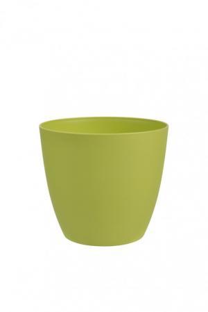 PLASTKON  - Dekoratívny kvetináč ELLA 18 zelená