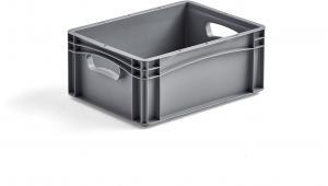 Plastová prepravka AJ EURO, 15 L, 400x300x170 mm
