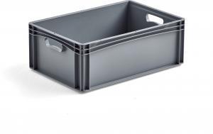 Plastová prepravka AJ EURO, 44 L, 600x400x220 mm