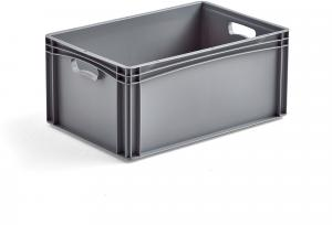 Plastová prepravka AJ EURO, 52 L, 600x400x270 mm