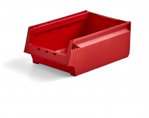 Plastový box AJ 9000, séria 9071, 500x310x200 mm, červený