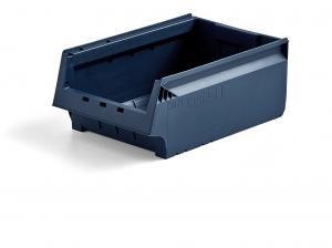 Plastový box AJ 9000, séria 9071, 500x310x200 mm, modrý