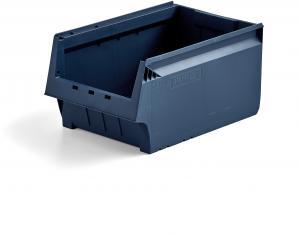 Plastový box AJ 9000, séria 9072, 500x310x250 mm, modrý