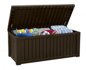 Plastový box - ROCKWOOD box 570L - hnedý