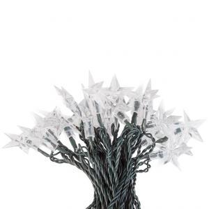 Platinium Vianočné LED osvetlenie hviezdy 50 diód studená biela