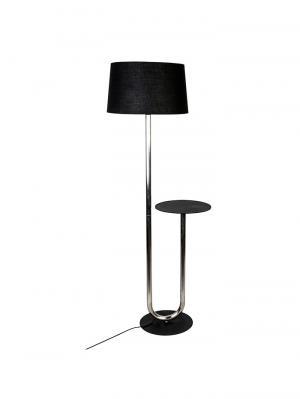 Podlahová lampa so stolíkom Skema, 156 cm