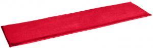 Podsedák LEON Farba: červená, Rozmer: 140 x 34 x 3 cm,