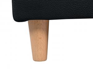Pohovka: montila lux 3dl (čierna)