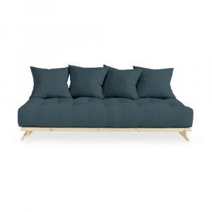 Pohovka Karup Design Senza Natural Clear/Dark Blue