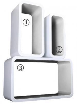 Polička - Tempo Kondela - Amos biela (3 ks.). Sme autorizovaný predajca Tempo-Kondela.