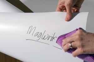 POPISOVATEĽNÁ MAGNETICKÁ FÓLIA MATNÁ BIELA XXL
