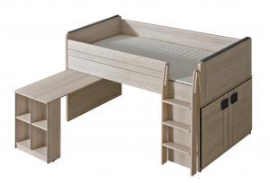 Poschodová posteľ 90 cm Gemo G15 (s roštom)