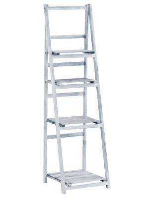 Poschodový regál Lilla, 151 cm, sivá