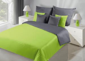 Posteľná bielizeň 200x180 cm - Eurofirany - Nova (zelená + metalická) (komplet s obliečkami na vankúše). Akcia -9%. Sme autorizovaný predajca Eurofirany.