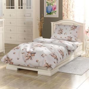 Posteľná bielizeň Provence - Adel béžová/biela Veľkosť: obliečka na vankúšik 40x40cm