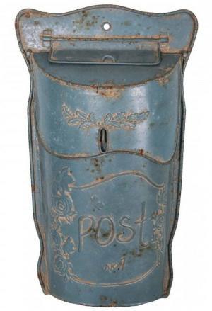 Poštová schránka Antic Line Lettres Bleue