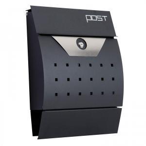 Poštová schránka - čierna
